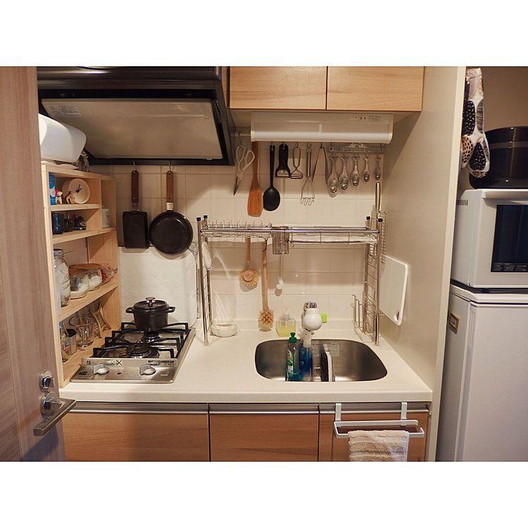 キッチン 6畳 一人暮らし 1kのインテリア実例 2018 12 05 07 25 57