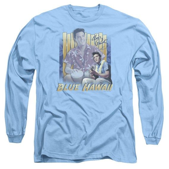 Elvis Presley SINGING HAWAII STYLE Licensed Adult T-Shirt All Sizes
