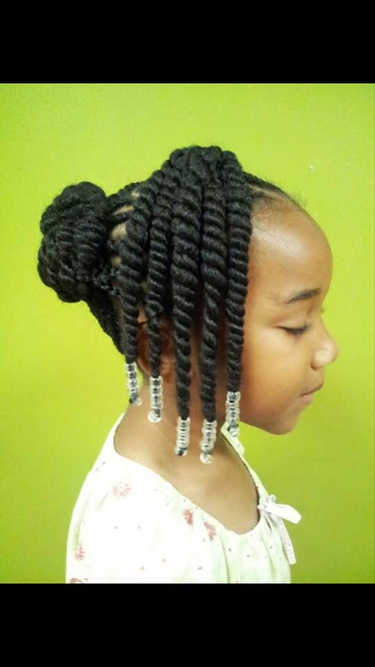 Twist Braids Natural Hair Styles Braids For Kids Hair