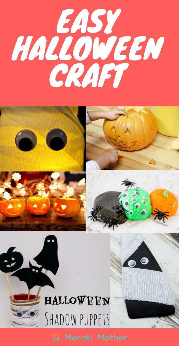 easy halloween arts and crafts for preschoolers   <3 best craft