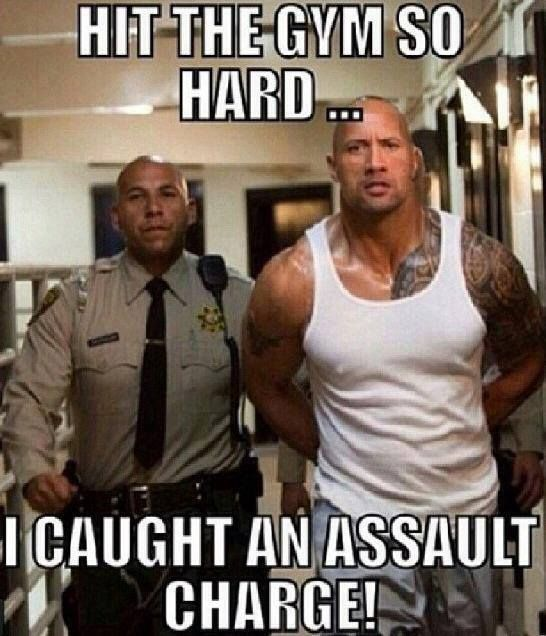 hit the gym so hard, i caught an assault charge | Gym ...