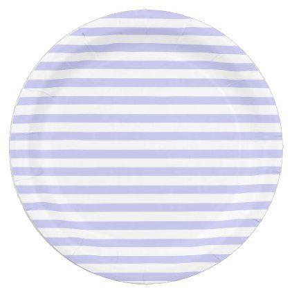 sc 1 st  Pinterest & Lavender \u0026 White Striped Paper Plates