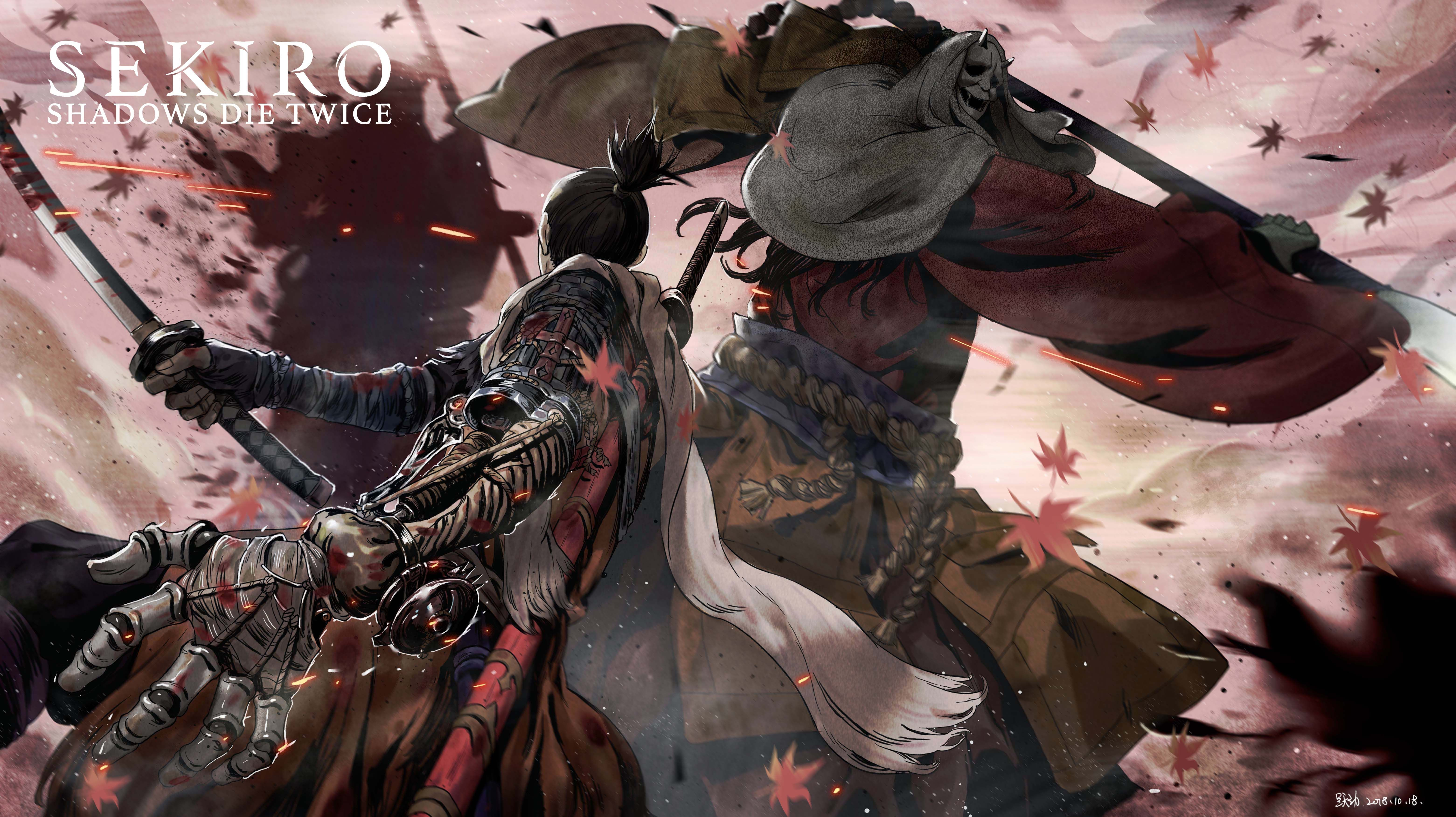 Sekiro Shadows Die Twice 2534057 Fullsize Image 6243x3508 Zerochan Video Game Art Dark Souls Art Game Art
