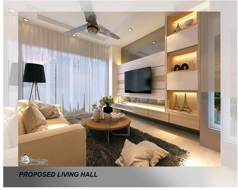 Modern Contemporary Parc Vera Interior Design Singapore