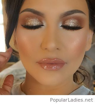 Awesome glitter and gloss | Make up, Hair make up and Make up ideas
