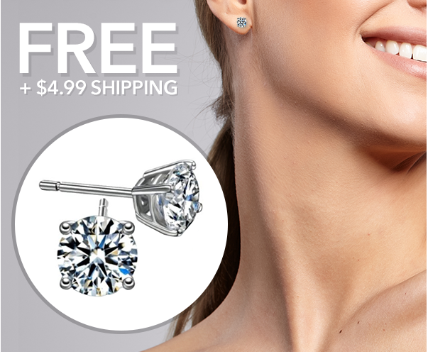 Simulated Diamond Stud Earrings 2ct 4 99 Shipped
