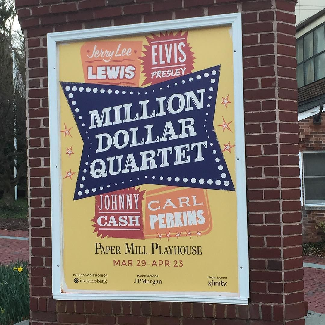 #milliondollarquartet #papermillplayhouse