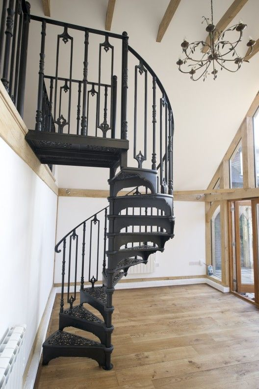 Best Victorian Spiral Staircase With Plain Infills Spiral 400 x 300