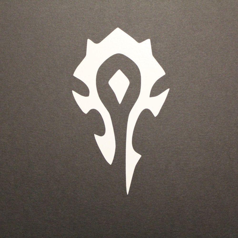 Horde Decal World of Warcraft World of warcraft