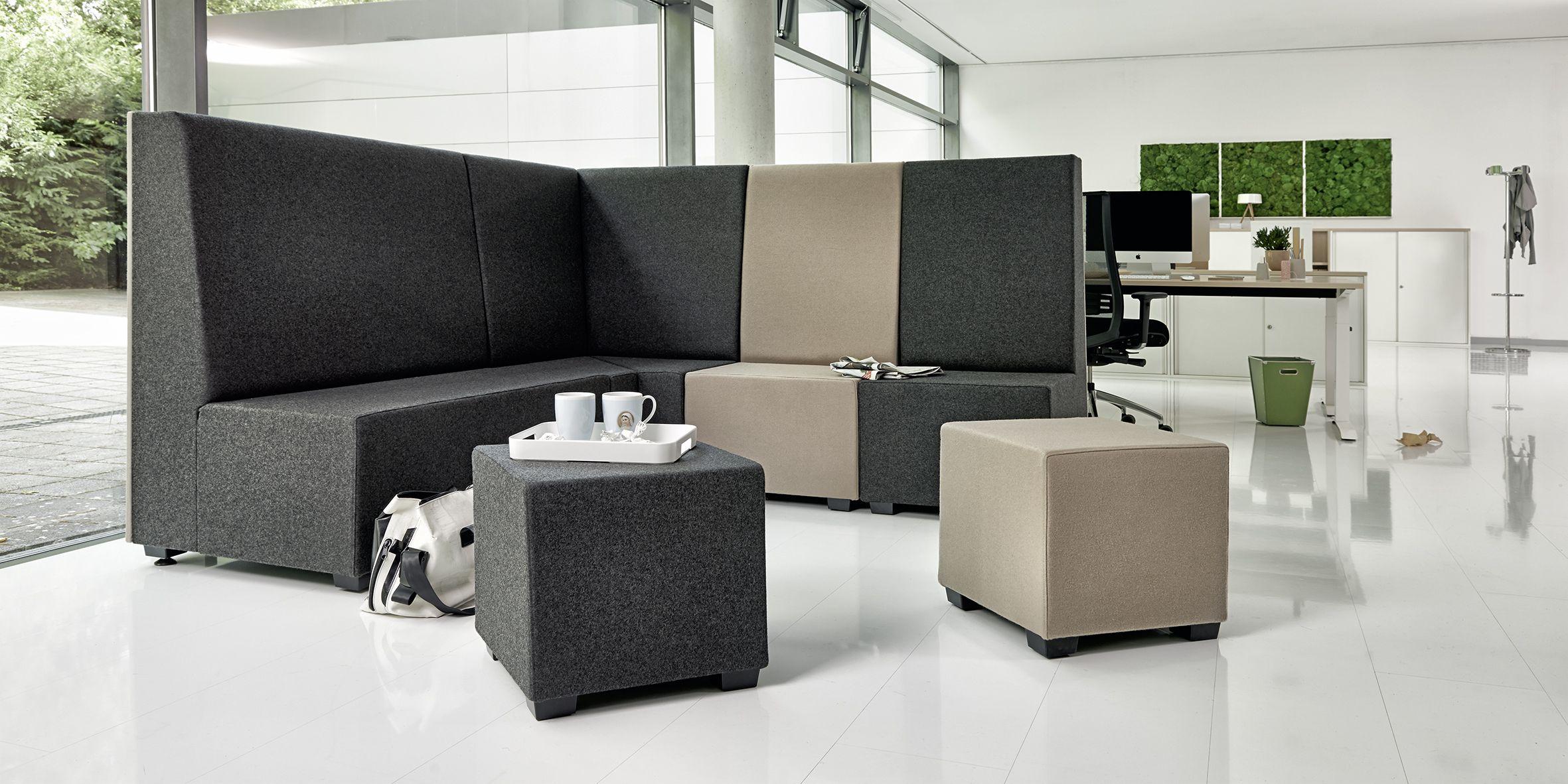 Sofa Talkline von Febrü – Talkline bringt gemütliche Wohnlichkeit ...