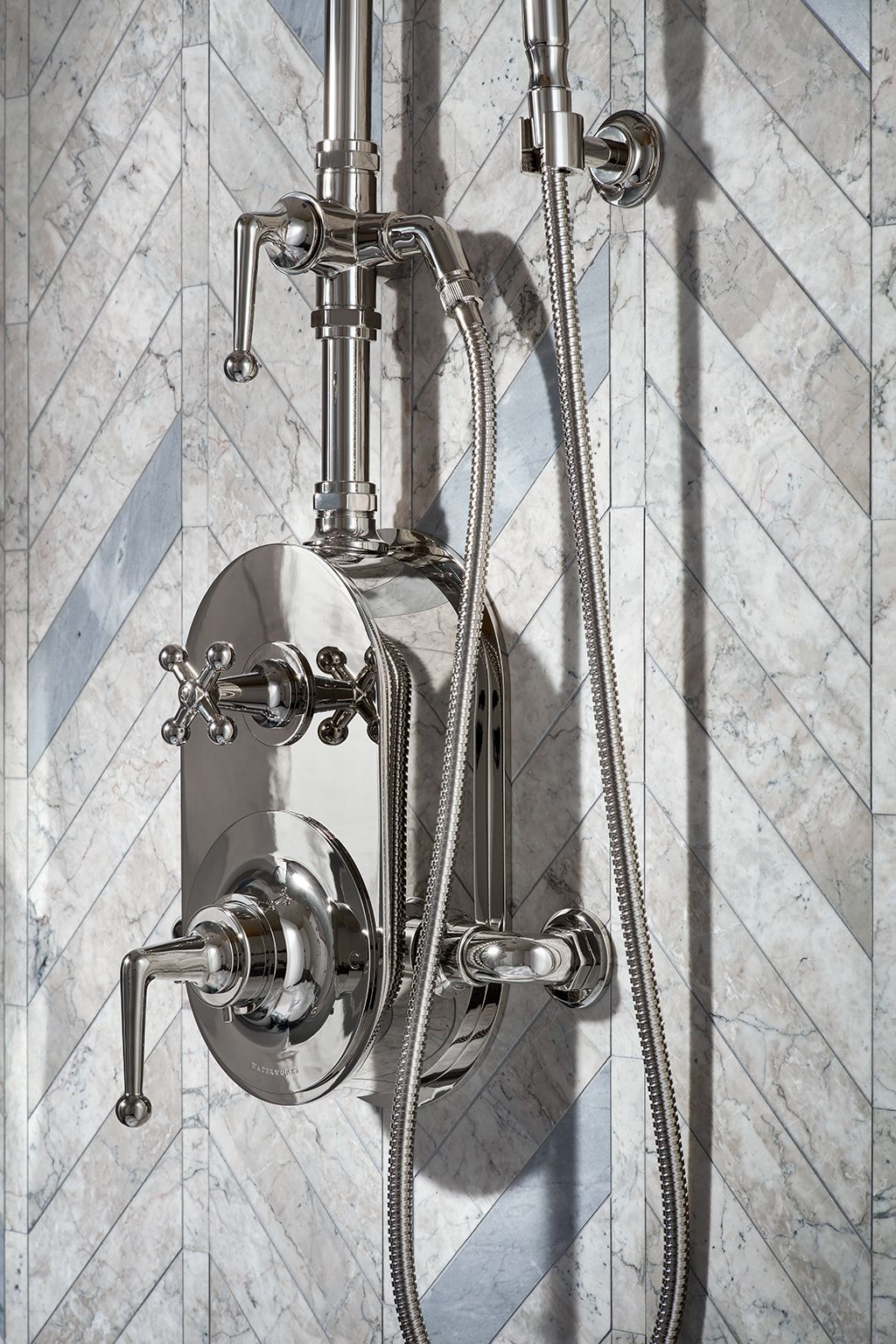 Dash Exposed Thermostatic Shower System With 8 Shower Head