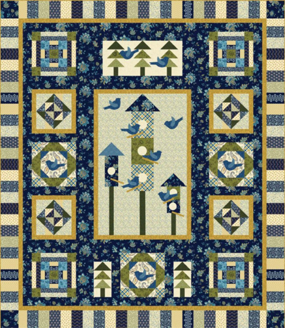 Color It Blue Block of the Month Registration - Quilting by the ... : quilts by the bay - Adamdwight.com