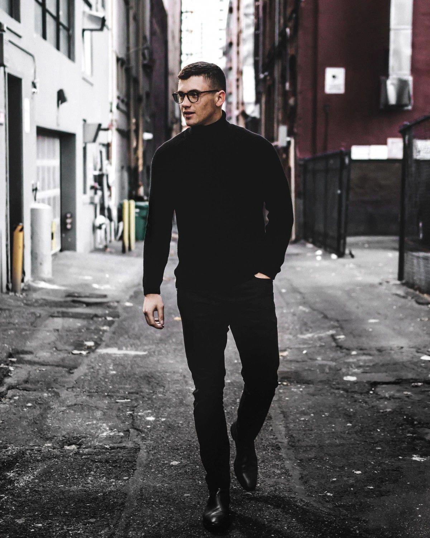43++ Black turtleneck outfit men ideas ideas in 2021