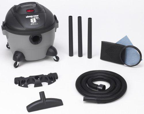 Shop Vac 5850800 8 Gallon 3 5 Peak Hp Quiet Plus Series Wet Dry Vacuum Accessories Included 7 Foot X 1 1 4 Inch Wet Dry Vacuum Vacuum Accessories Cord Storage