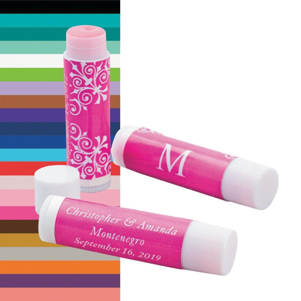 Monogrammed Wedding Lip Covers   Monogram wedding, Monograms and ...