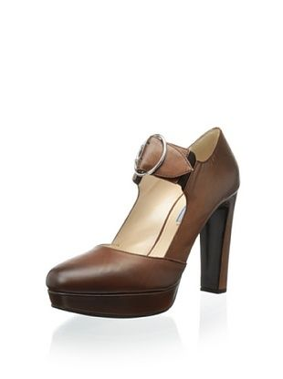 54% OFF Prada Women's Mary-Jane Pump (Teak)