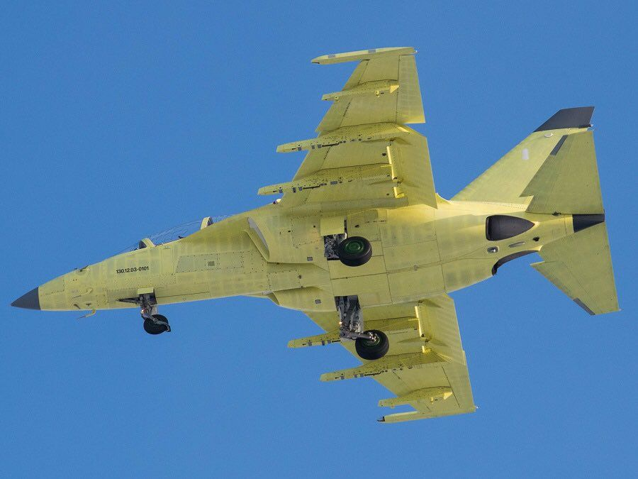 Looks like 1st YaK-130 for Myanmar Air Force performed maiden flight. via (c) A.Korshunov
