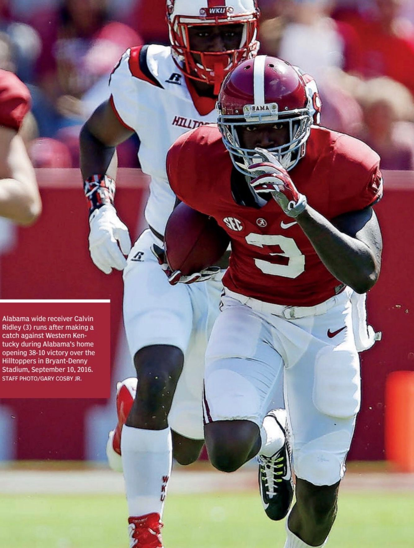 Calvin Ridley Alabama Football Roll Tide Alabama Football Alabama Crimson Tide