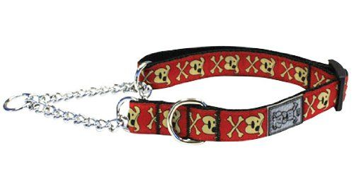 Rc Pets Products 34inch Pets Training Martingale Collar Medium 9 By 14inch Pirate Pooch You Can Get A Reflective Dog Collars Martingale Collar Pet Training