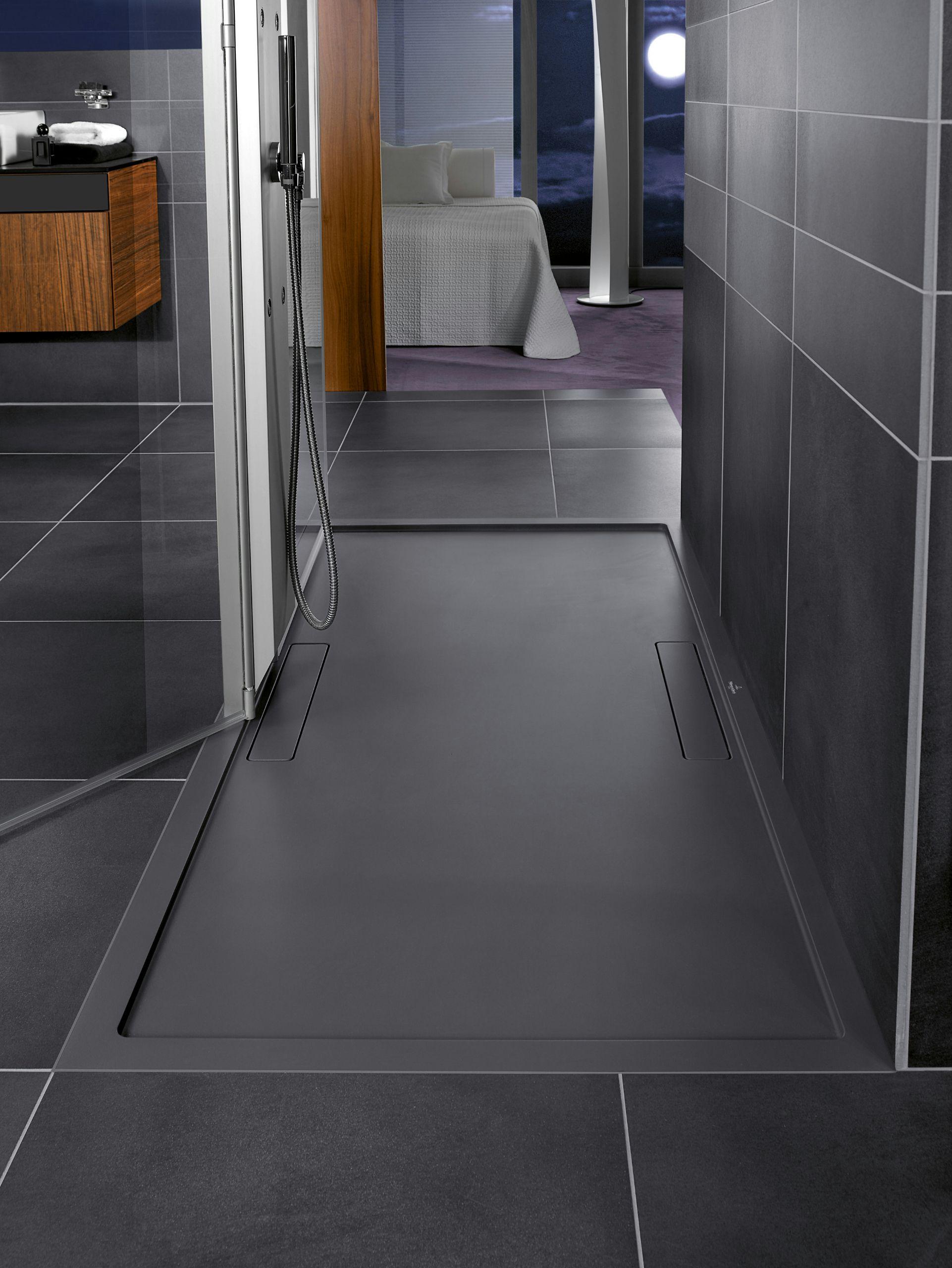 Squaro Shower Tray By Villeroy Shower Tray Bathroom Shower Room