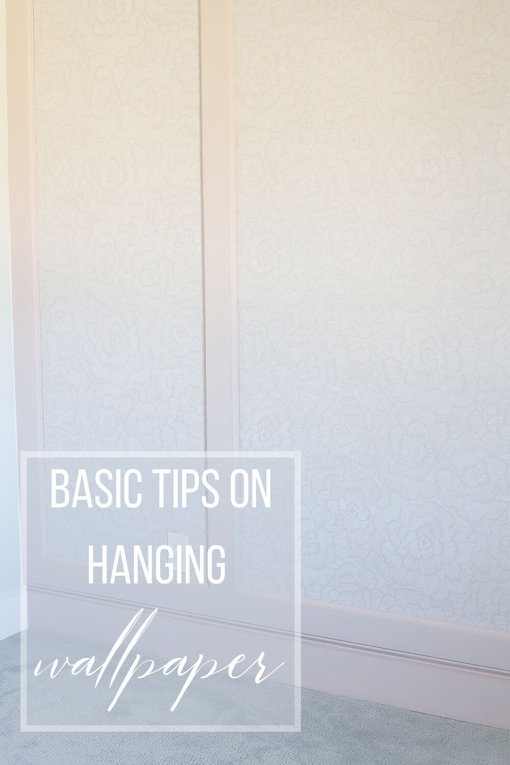 Basic Tips On Hanging Wallpaper Feature Wall Wallpaper Feature Wall How To Hang Wallpaper