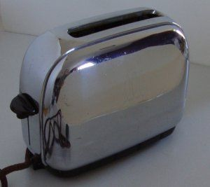 Toastmaster toaster 1940 the bachelor model one slice toaster