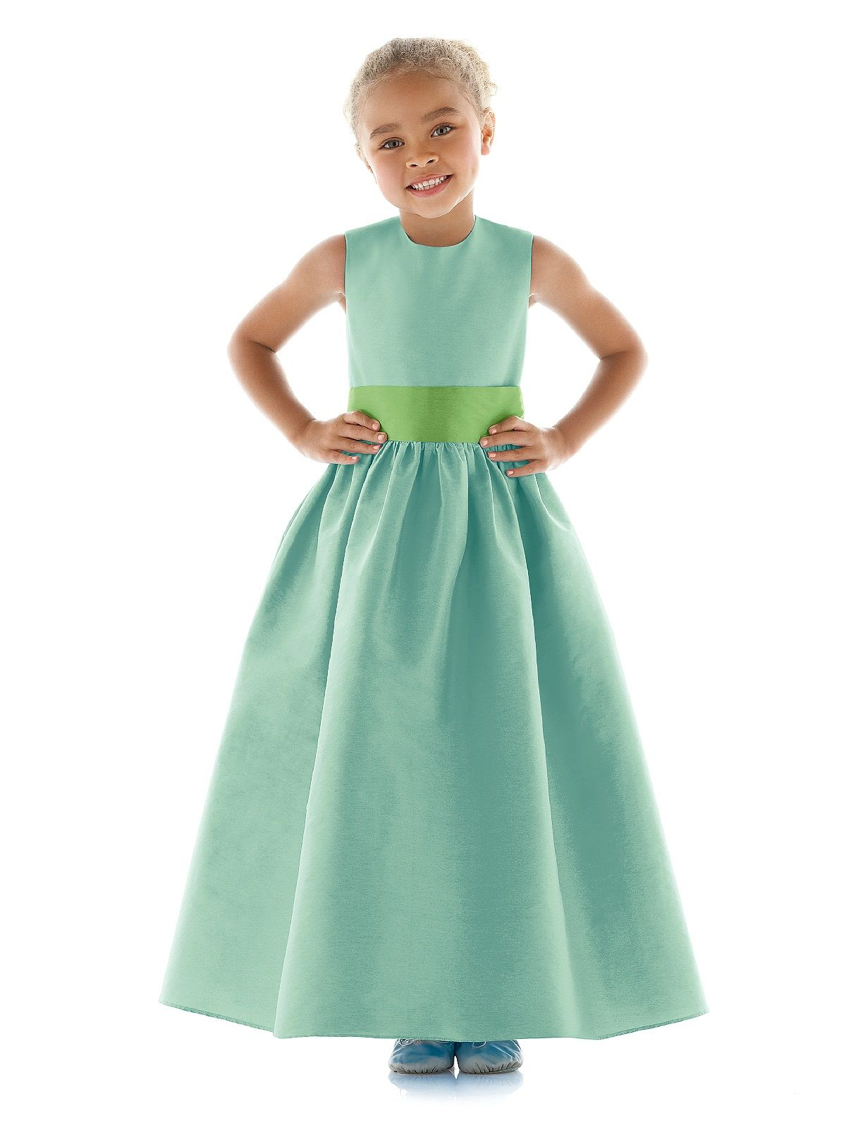 Complement Your Emerald In Your Flower Girls Dresses Flower Girls