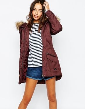 6efcfff1cb17 Search: parka - Page 1 of 2 | ASOS | Style | Faux fur parka, White ...