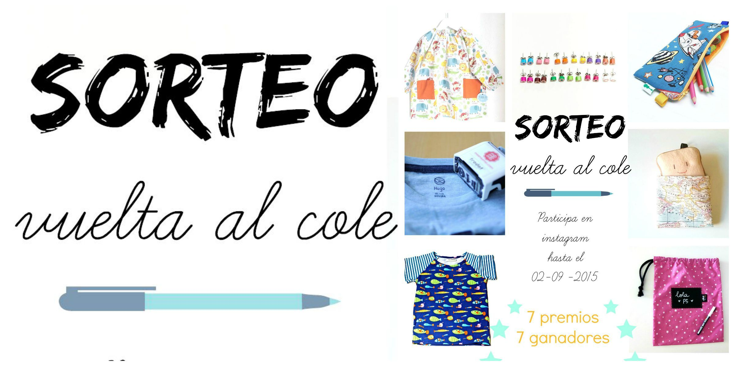 Sorteo especial #vueltaalcole, participa desde tu cuenta de instagram!! mas información en nusetro blog http://julieandjane.es/blog-sorteo-vuelta-al-cole/