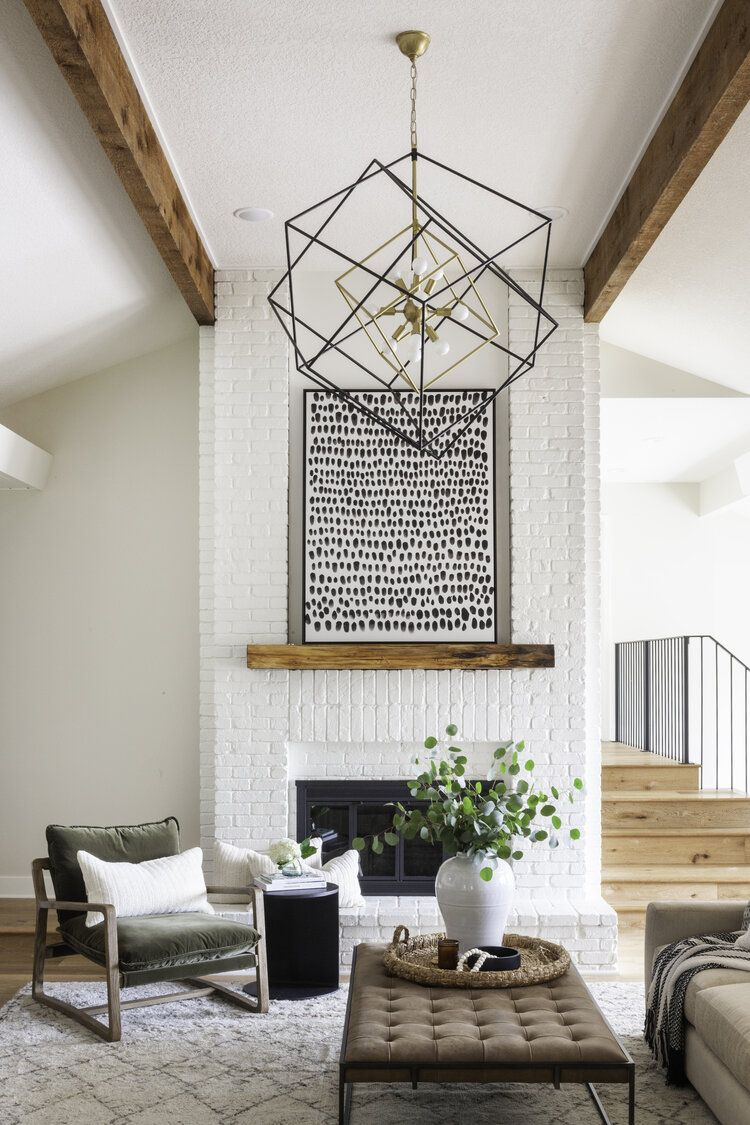 Home Tour Collins Interior S Color Play Project Scout Nimble Cozy Contemporary Living Room Contemporary Living Room Contemporary Interior