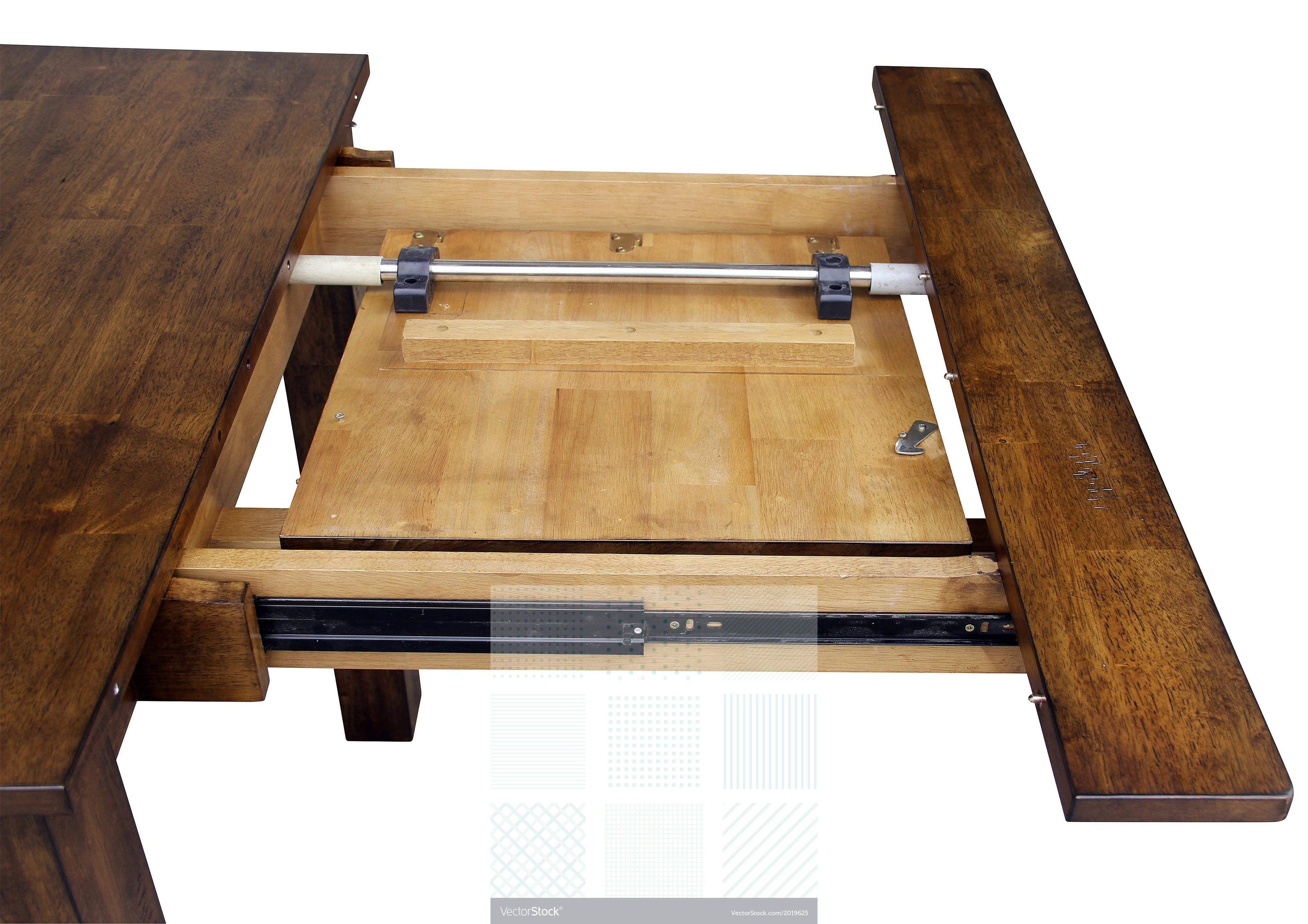 Expandable Leaf Farmhouse Table From James James Www Carpenterjames Com Diy Kitchen Table Diy Dining Room Farmhouse Dining Room Table
