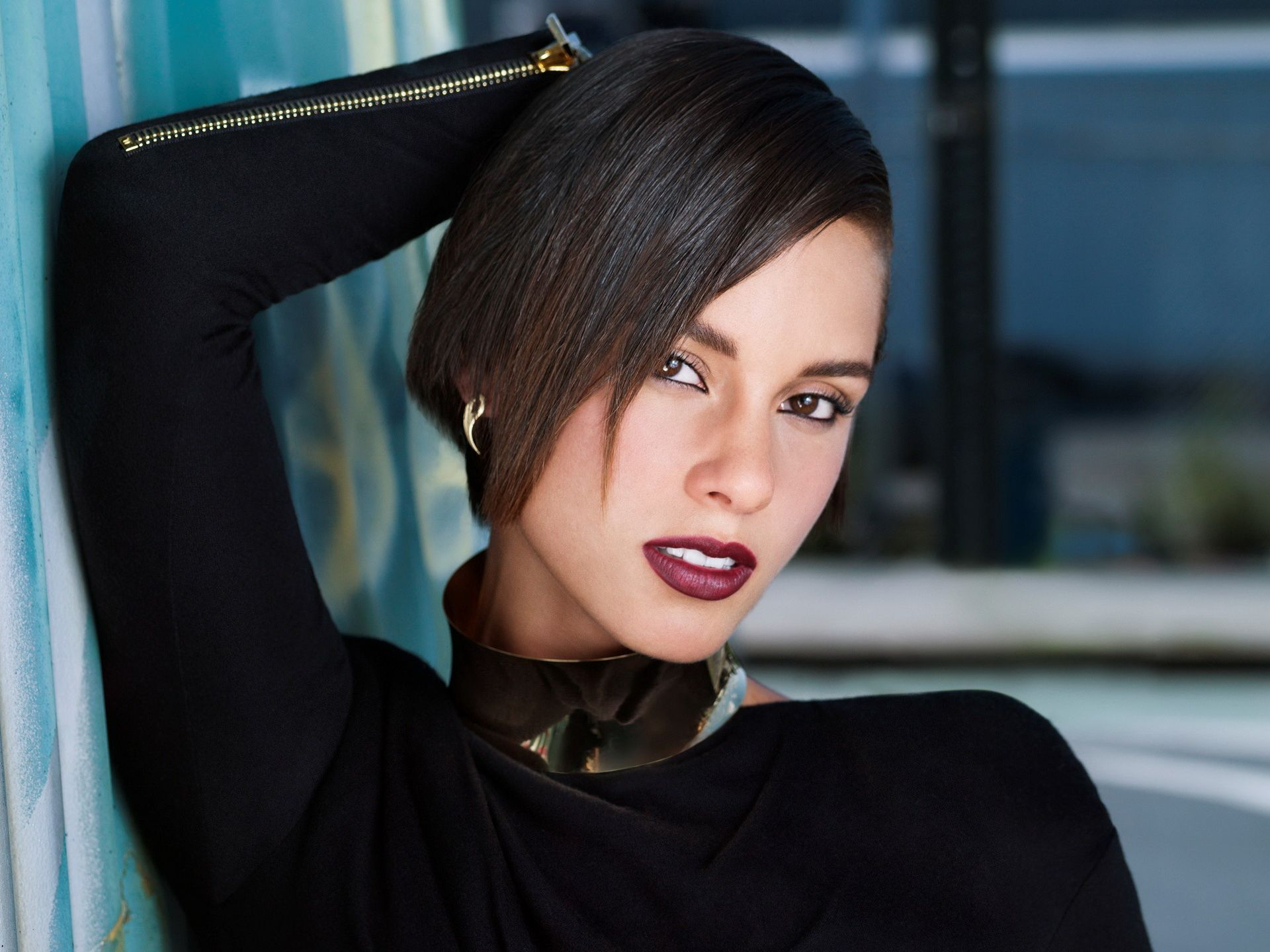 Alicia Keys Beautiful Legends Pinterest Alicia Keys Short