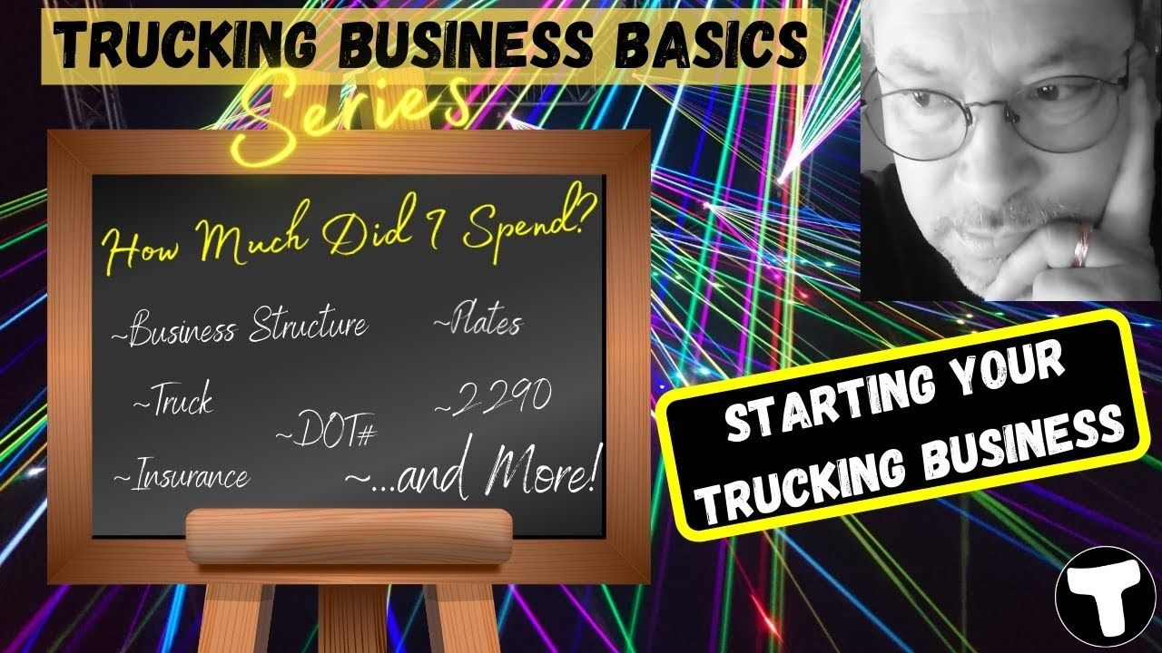 Cost To Start A Trucking Company Amazon Relay Trucking Business Owner Operator Success Youtube Trucking Business Trucks Business Basics