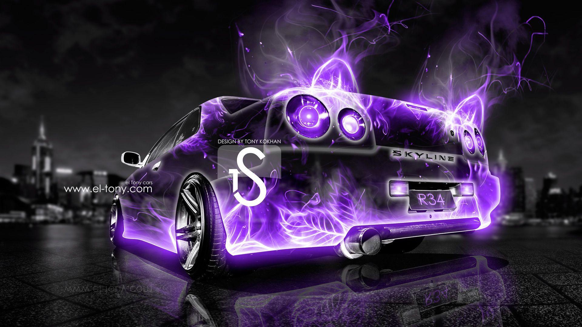 2013 Nissan Skyline Gtr R34   Printable Invitation Download