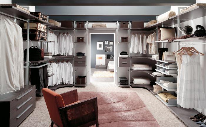 Vestidores olivella vestidores modernos vestidor y - Distribuir armario empotrado ...