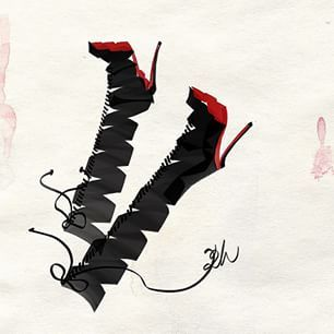 #CHRISTIANLOUBOUTIN  illustrated by #sokidahee #Louboutinworld  #shoes #womenshoes #pumps #accessories #highheels #killheels #일러스트 #일러스트레이션 #패션일러스트레이션 #illust #illustration #fashionillustration #fashion #fashionillust #scribbling #doodling #art #artwork #drawing #sketchbook #sketchdaily #fashionart #style #illustrator #fashionillustrator #fashionsketch