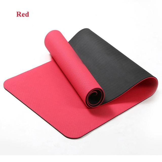 Model Number Yjd00013 Material Tpe Length 183cm 61cm Thickness 6 Mm Beginner Brand Name Qubabobo Itme Name Yoga Mats Yoga Mat Workout Pad Mat Exercises