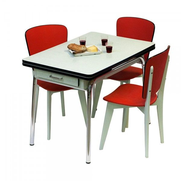 Table En Formica Annees 60 Joze Vintage 30s 40s 50s