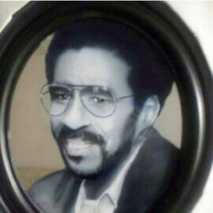 "Hand painted ""portrait on mirror"""