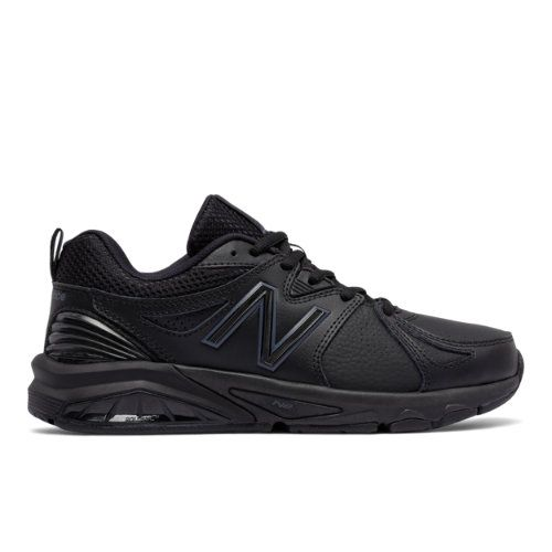af9a12addf2c New Balance 857v2 Women s Everyday Trainers Shoes - Black (WX857AB2 ...
