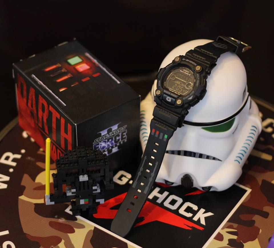 G Shock Star Wars The Force Unleashed Gw 7900 Dw 6900 Casio Jam Tangan Ga 110mc 1adr Original 5