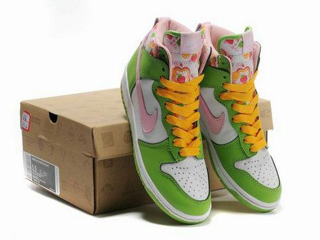 new style 91205 1c36b Nike Dunk High GS Strawberry Shortcake Pack Womens Shoes