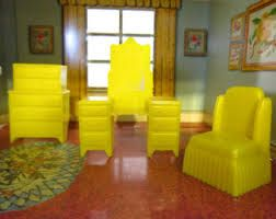 plastic dollhouse furniture vintage - Google Search