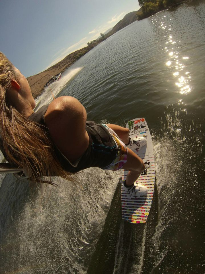 Hot naked girl on wakeboard vogel naked ass