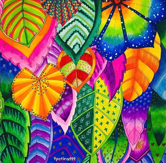 Coloring Coloriage Coloringbook Colouringbook Amocolorir Adultcoloring Editor Magical Jungle Johanna Basford Basford Coloring Book Secret Garden Coloring Book