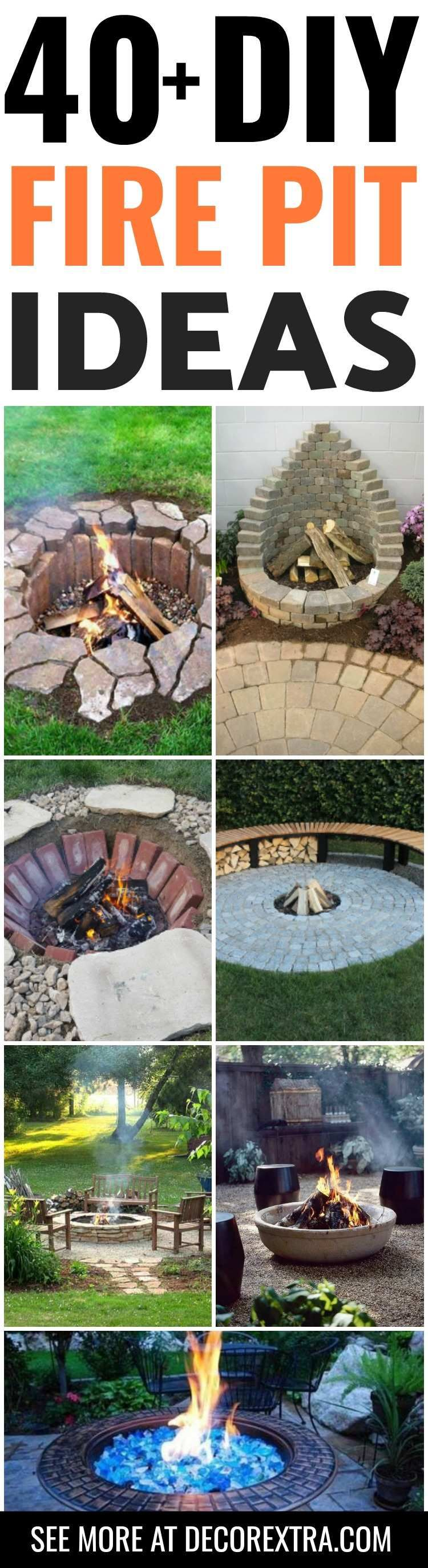 Diy fire pits amazing diy outdoor fire pit ideas you must see