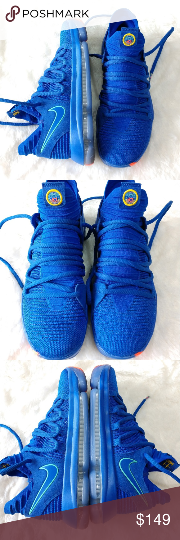 083375f299f 🆕Nike Zoom KD 10 City Edition Racer Blue Men s Nike Zoom KD 10 City Edition