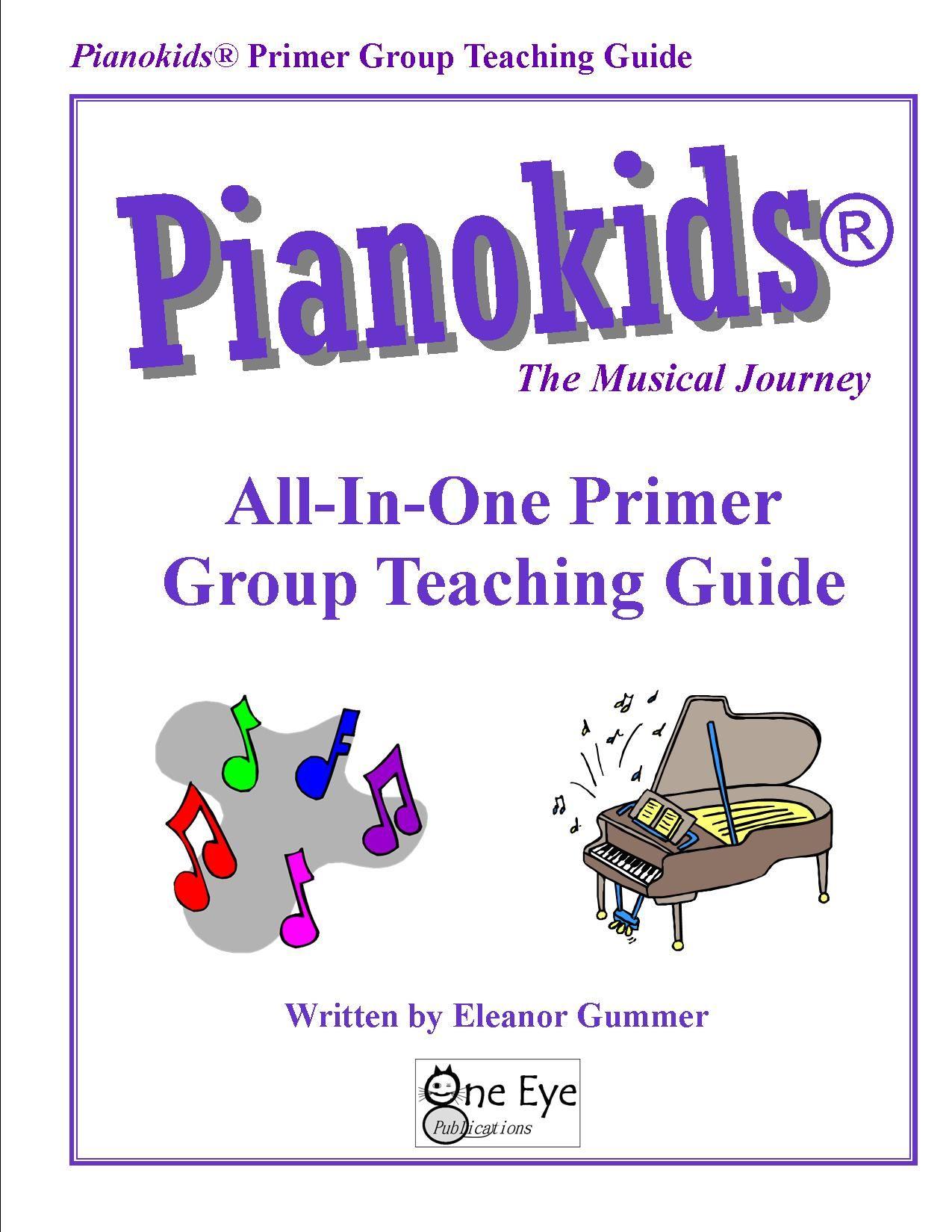 New Pianokids Group Teaching Guide Primer Piano Beginner