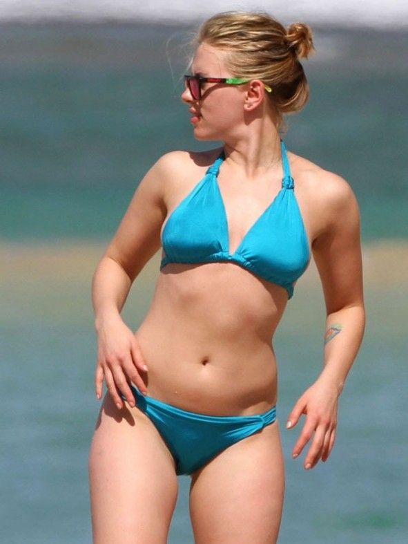 Scarlett Johansson S Perfect Bikini Body This Is Something I Can