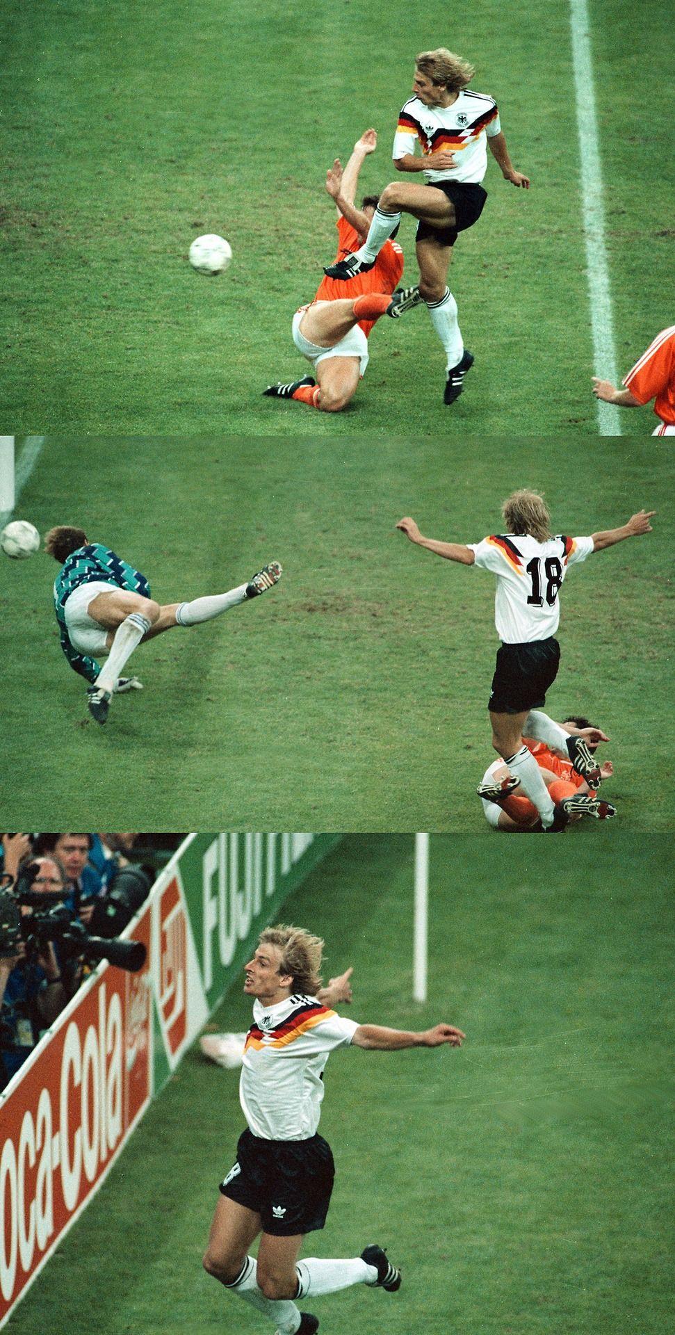 DEUS JURGEN itália'90 International football, World cup